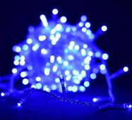 Гірлянди 100 ламп LED синій 8 м К-12