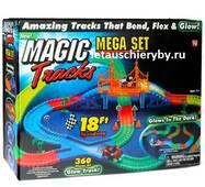 Гоночная трасса Magic Tracks на 360 деталей с мостом + 20 деталей в подарок + 2 машинки купить в Харькове