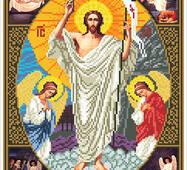 """Канва для вишивання бісером """"Воскресіння Христове"""""""
