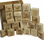 Кубики Абетка + арифметика купити недорого