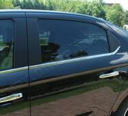 Citroen C-Elysee окантовка стекол Carmos купить в Запорожье