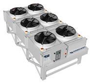 Пластинчасті і ребристо-трубні конденсатори повітряного охолодження LU-VE купити в Україні
