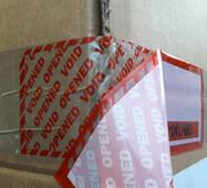 Пломбувальний скотч 50х150 мм в рулоні 333 відрізки купити в Україні