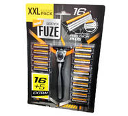 Станок для гоління Body-X Fuze + 21 запаска Нідерланди