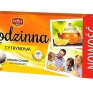 Чай чорний в пакетиках Rodzinna Cytrynowa, 80 пакетиків Польща