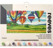 Картина по номерах на полотні - Hot Air Balloons
