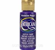 Акриловая краска для живописи Americana Acrylic Paint - Dioxazine Purple - Semi-Opaque