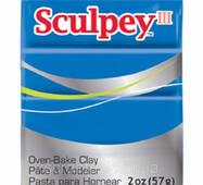 Полимерная глина Sculpey III 57 г New Blue (715891110638)