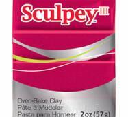 Полимерная глина SCULPEY III Deep Red Pearl (715891111406)