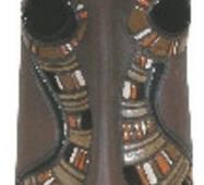 Подсвечник керамический Истукан