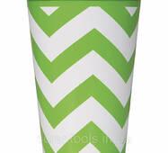 Паперові скляночки 6шт в упаковці - LIME GREEN (11179385768)