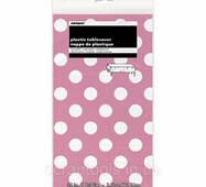 Скатертина unique Святкова Hot Pink Decorative Dots 1.37х2.74 м (11179502653)