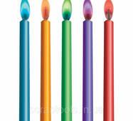 Набор свечей с цветным пламенем - Color Flame
