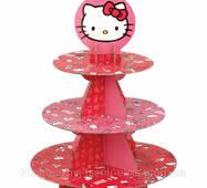 Стенд для капкейков Wilton Hello Kitty Treat Stand (W7575)