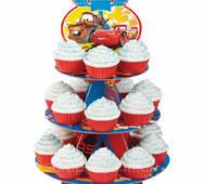 Стенд для кексов на день рождение - CARS - тачки