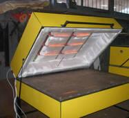 Электропечь для нагрева и последующей гибки искусственного камня недорого