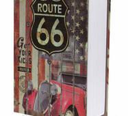 Книга-сейф MK 0791 метал/картон (Шосе 66)