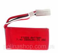 Аккумулятор (FT009) Hot RC Li-Po 2800mAh 7.4V