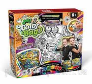 """Комплект креативної творчості """"My Color Bag"""" сумка-розфарбовування міні 6833dt"""