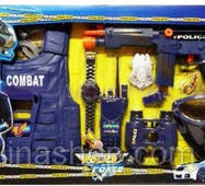Поліцейський набір 33530 автомат, жилет, бінокль