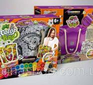 """Комплект креативної творчості """"My Color Bag"""" сумка-розфарбовування 6065dt"""