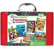 Подарунковий набір з 6 картин для малювання по номерах - RTN - 204