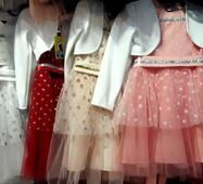 Святкове плаття з болеро для дівчинки