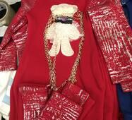 Тепле плаття з сумочкою для дівчинки