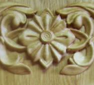 Різьблені накладки з дерева