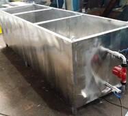 Ванни пастеризацій з нержавіючої сталі.
