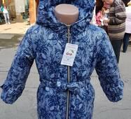 Демисезонная детская куртка для девочки, рост 98-116