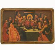 Икона Тайная вечеря, XVIII в