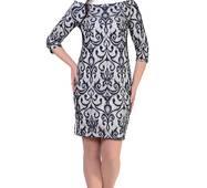 Женское гипюровое платье 8522