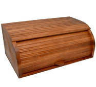 Хлебница деревянная, тонированная
