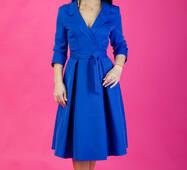 Женское однотонное платье, миди, 258