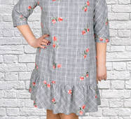 Жіноче плаття великих розмірів, 1700