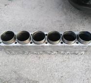 Блок цилиндров двигателя 1Д12, 1Д6, 3Д6, Д12, В46-2, В-46-4, В-55.