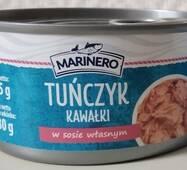 Тунець шматочками Marinero у власному соці 185 г Польща