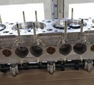 Головка на двигатель 1Д6, 3Д6, Д12, 1Д12, В46-2, В-46-4, В-55 левая