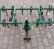 Культиватор 1,4 м пружинный мото/трактора (1Т) без катка