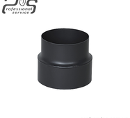 Димохідна редукція сталева 2 мм 150 мм/130 мм купити в Чернігові