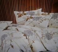 Двоспальна  бавовняна білизна з кольорами