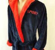 Продажа мужских махровых халатов со склада
