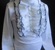 Оптовий продаж шкільних блуз від виробника.
