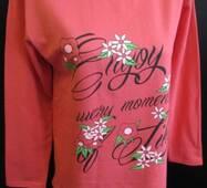 Хлопковые женские пижамы на байке.