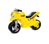 Мотоцикл для катания 2-х колесный лимонный Орион