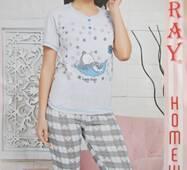 Хлопковые пижамы на лето для женщин.