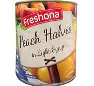 Персик в сиропі Freshona, 850 мл Німеччина