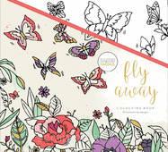 Раскраска KaiserColour Perfect Bound Coloring Book 20х20см - Fly Away
