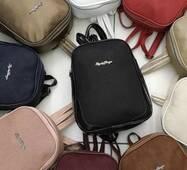 Рюкзак еко шкіра з замшею